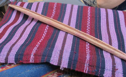 Traditional skirt woven by Mixtec weavers in Oaxaca