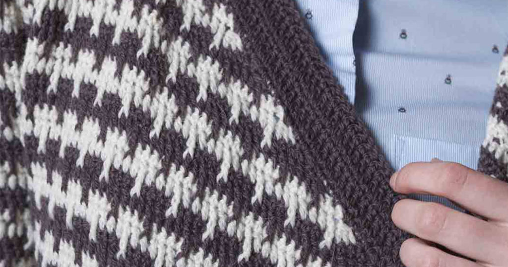 How to Use Crochet Post Stitches to Create Color and Texture