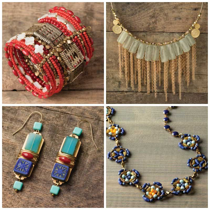 Beaded Jewelry You Love to Create, Wear, and Share. Global Style Jewelry by Anne Potter