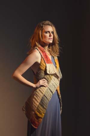 Prairiefire Tunisian Crochet Vest
