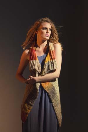Prairiefire Vest Tunisan Crochet Pattern
