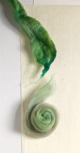 predrafting spinning fiber
