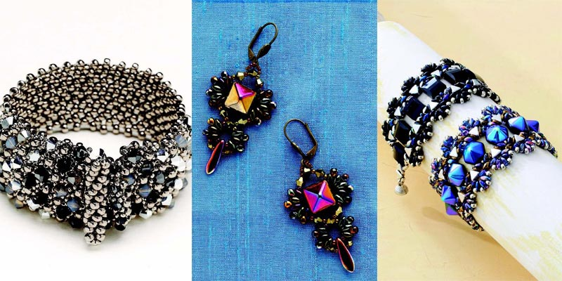 Handmade Jewelry Beadweaving Designs for Your Love of Creating