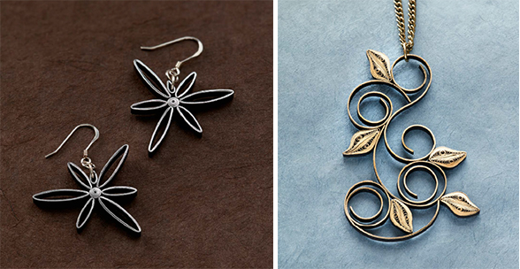 The Art of Quilling Paper Jewelry: Understanding Essential Quilled Paper Shapes