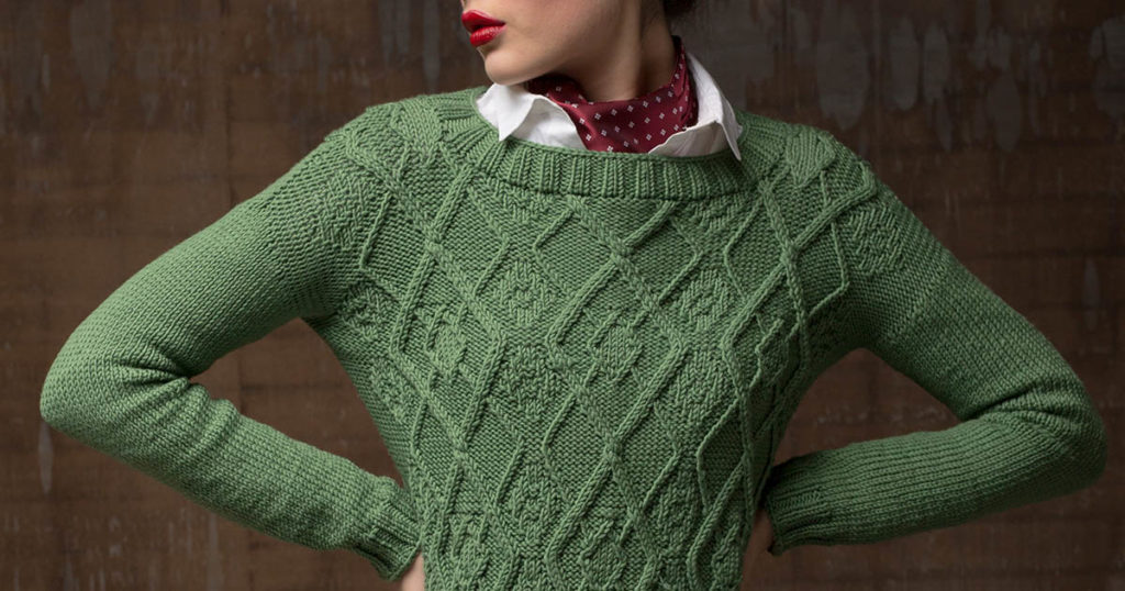 <em>Interweave Knits</em> Fall 2018: Quincy Pullover