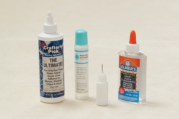 adhesives for quilling paper jewelry designs