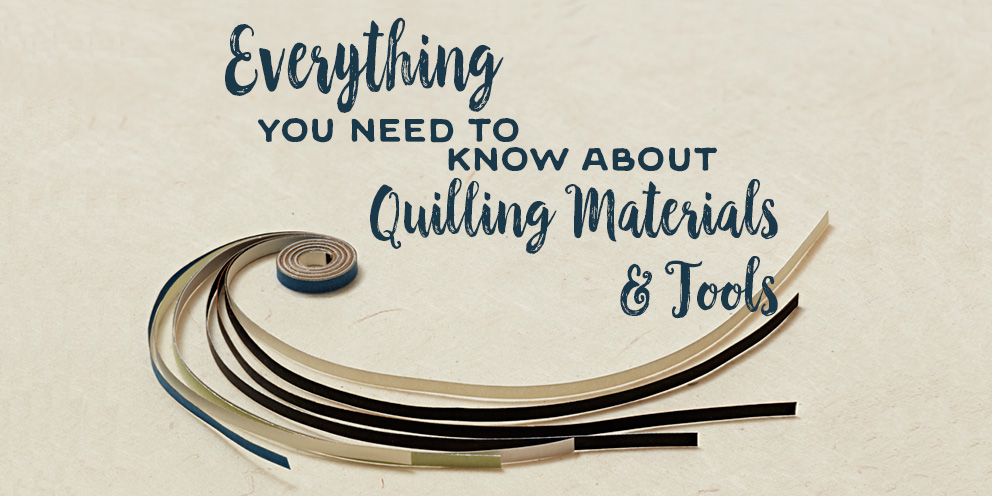 Everything You Need to Know About Tools & Materials for Quilling Paper Jewelry Designs