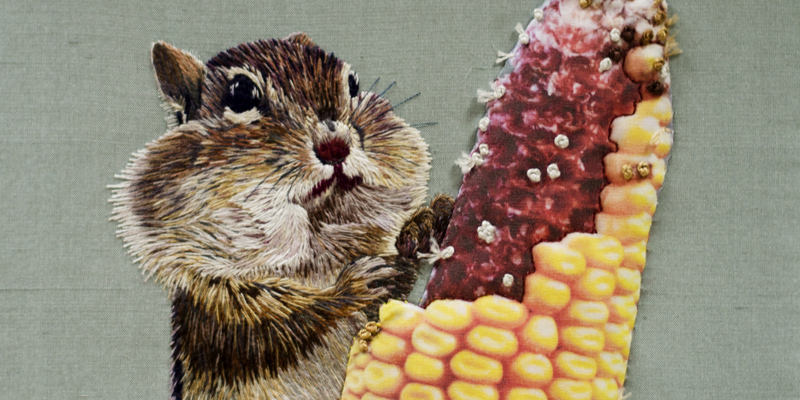 A Menagerie in Stitches at the Royal School of Needlework: Animals in Embroidery