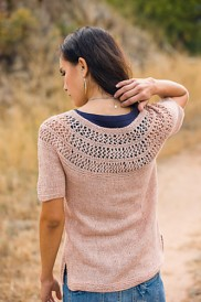 Radian Yoke, Knit Tops for summer knitting