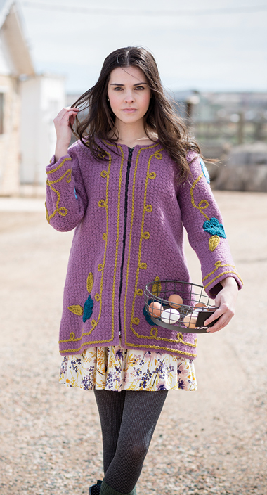 Rambler Coat Crochet Pattern