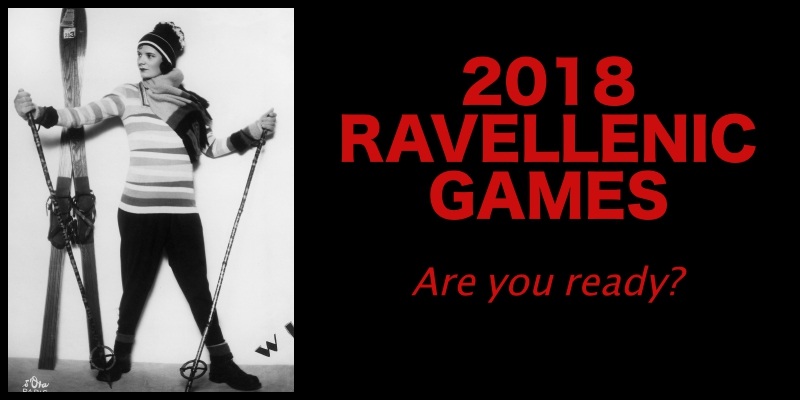 Ravellenic Games 2018: Are you in?