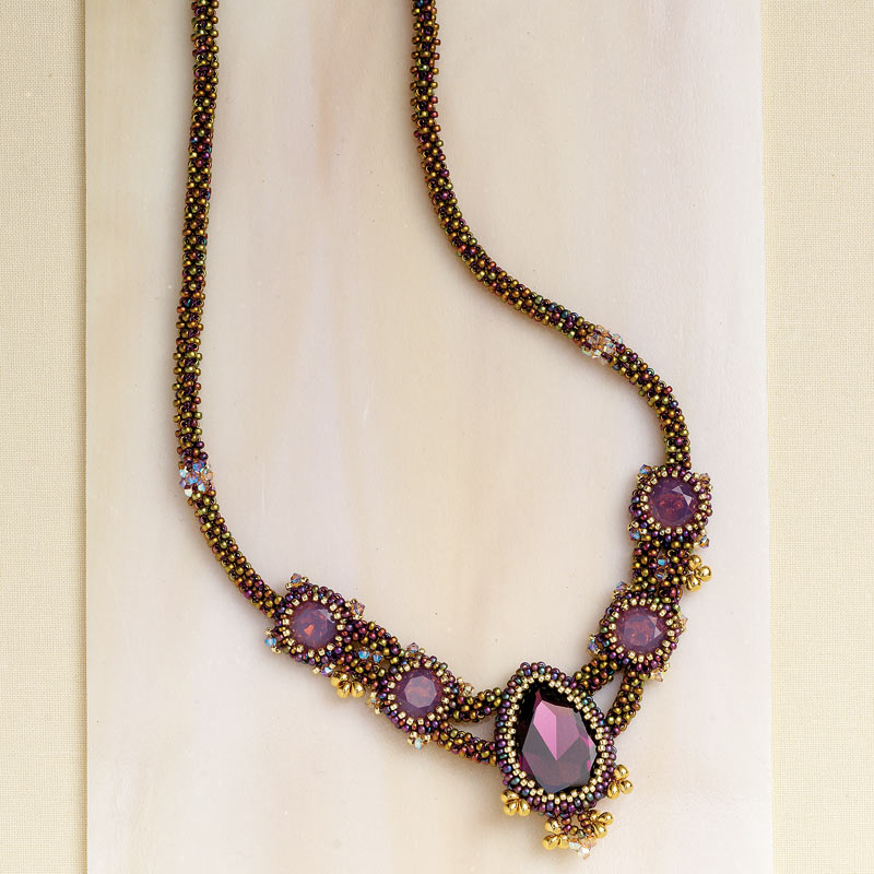 Artistic Creativity: 9 Genius Tips for Getting Out of a Creative Rut. Symphony Necklace by Anna Raymond