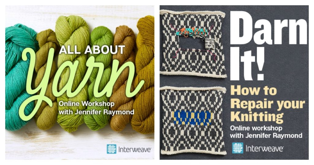 From Yarn to Darn—Discover Our Newest Online Ed Workshops!
