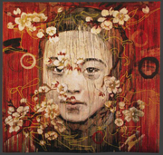 Golden Glyphs by Hung Liu