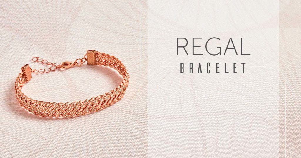 <i>Kumihimo Wirework Made Easy:</i> Regal Bracelet