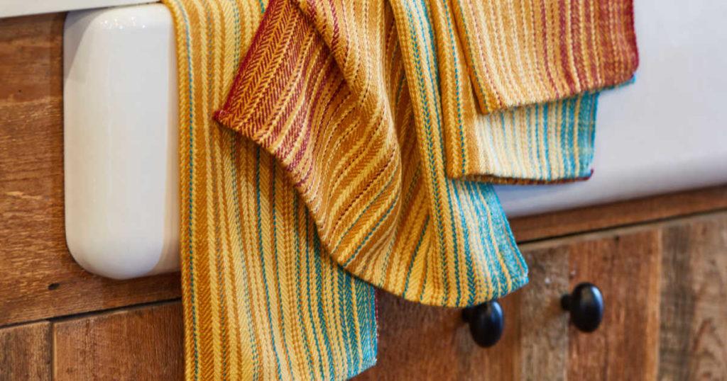 Sarah Resnick's Sunset Towels.