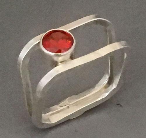 ring making_ Eva Sherman's Ring Squared class at Bead Fest