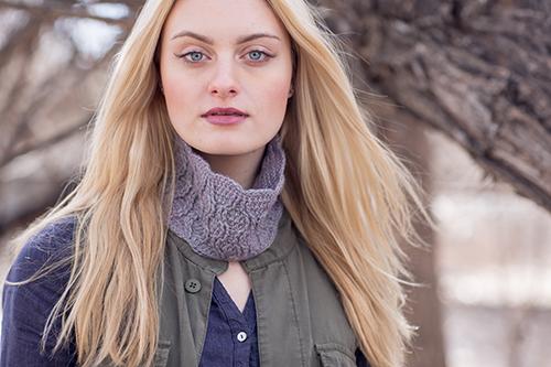 Rivulet Crochet Cowl