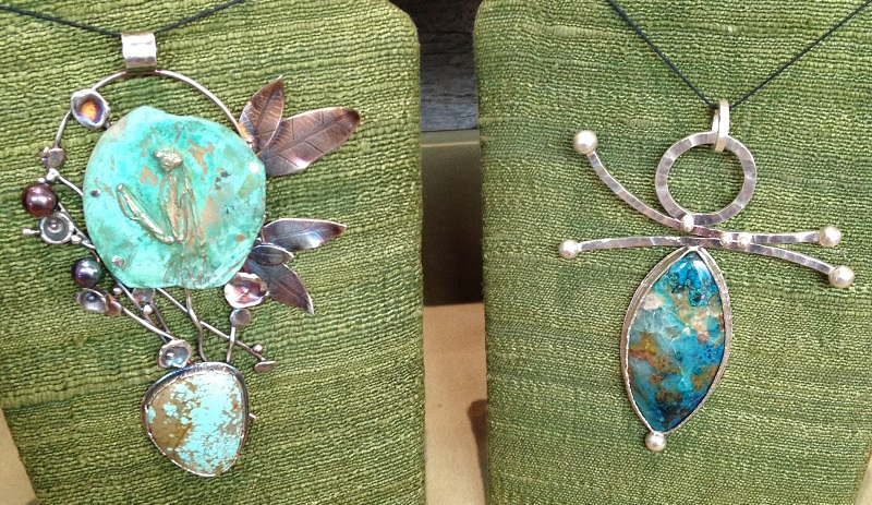 jewelry by jewelry artist and instructor of jewelry making Robert Lopez