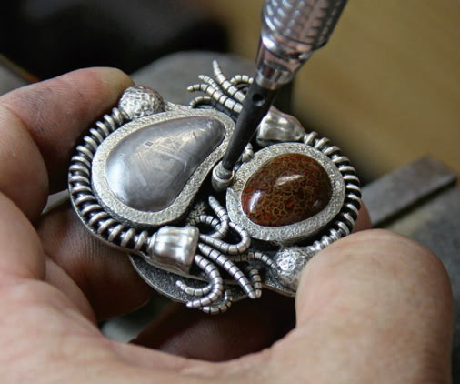 learn to create an otherworldly ring with Roger Halas