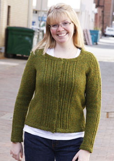 Knitting Gallery - Ropes and Picots Cardigan Toni