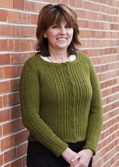 Knitting Gallery - Ropes and Picots Cardigan Bonnie
