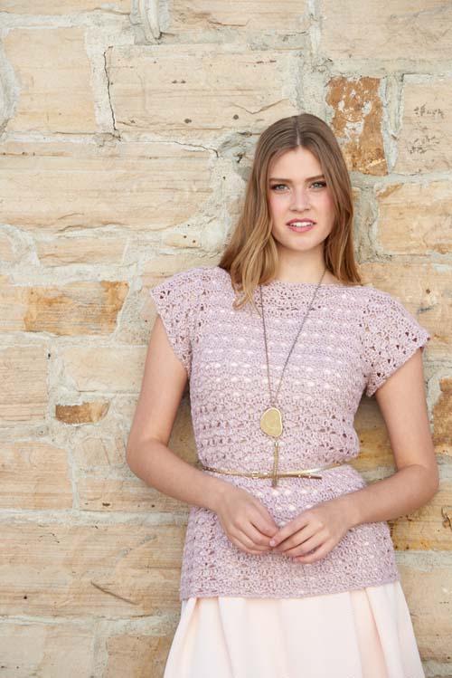 Rose Shell Crochet Pattern