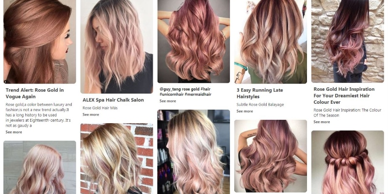 rose gold trend