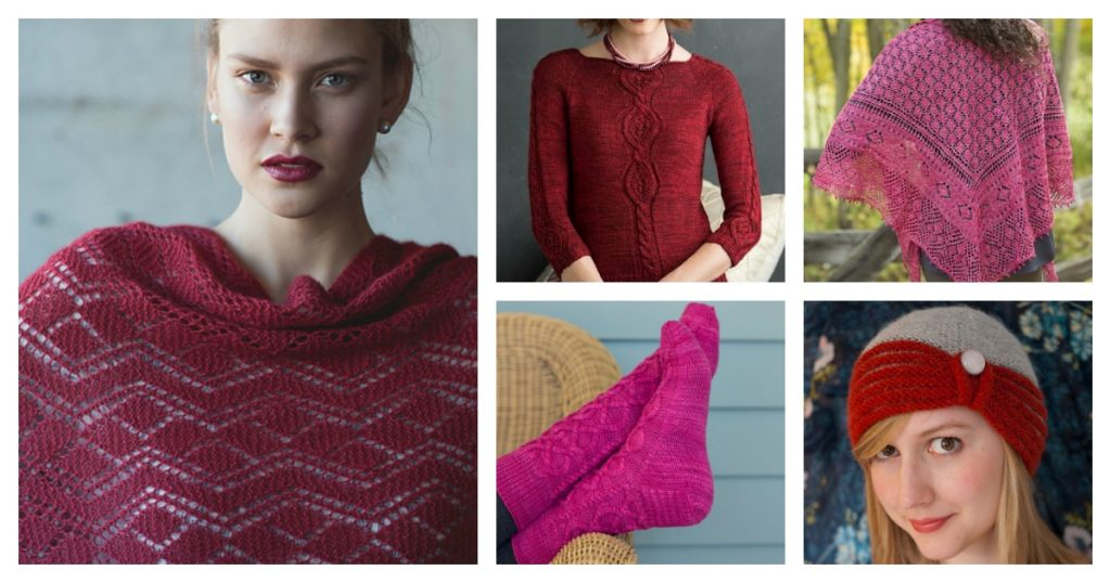 July's Birthstone: Ruby (and a free knitting pattern!)