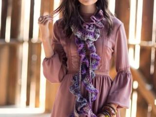 Rufflier Scarf Crochet Pattern
