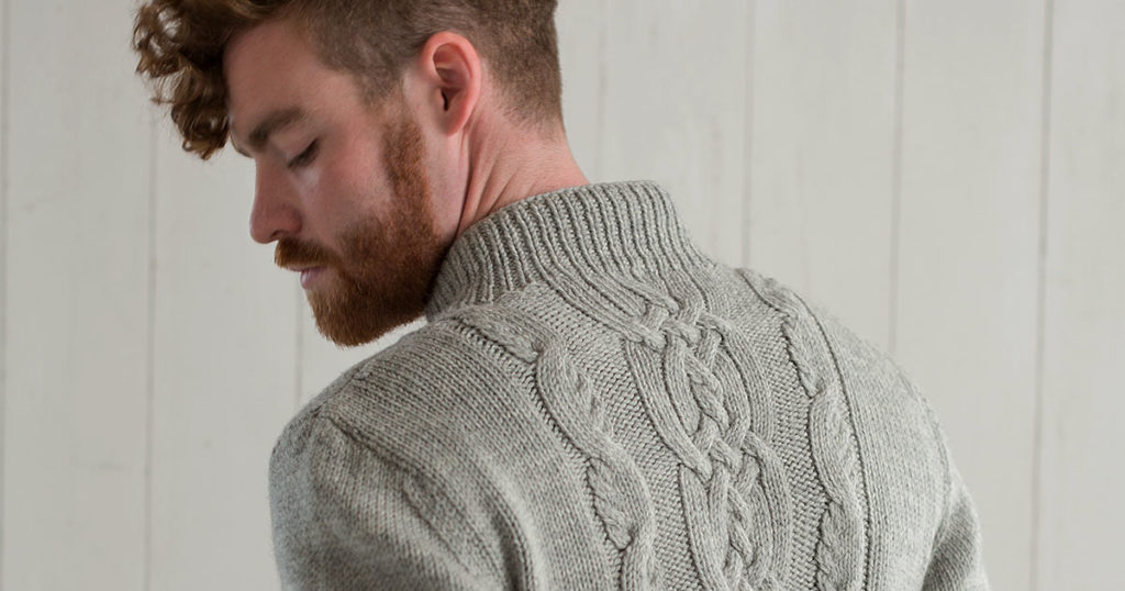Pattern of the Week: Sandy Neck Pullover