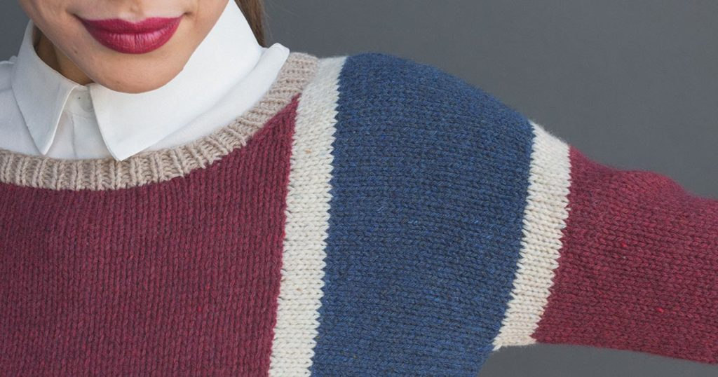 Pattern of the Week: Slide Pullover
