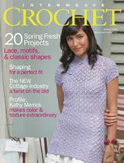 Spring 2008 Interweave Crochet cover