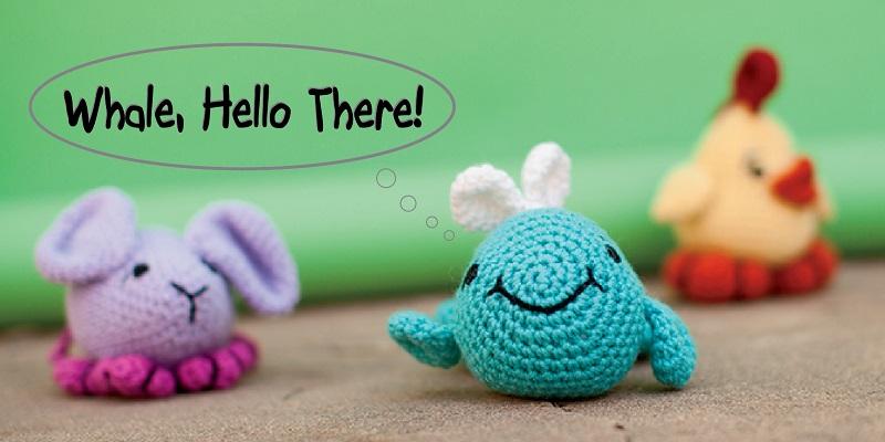 Pick Up a Hook and Crochet a Stuffed Animal!