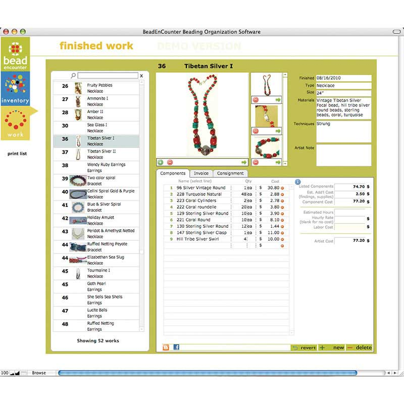 Tips for Creating an Inventory Database for Your Handmade Jewelry Business