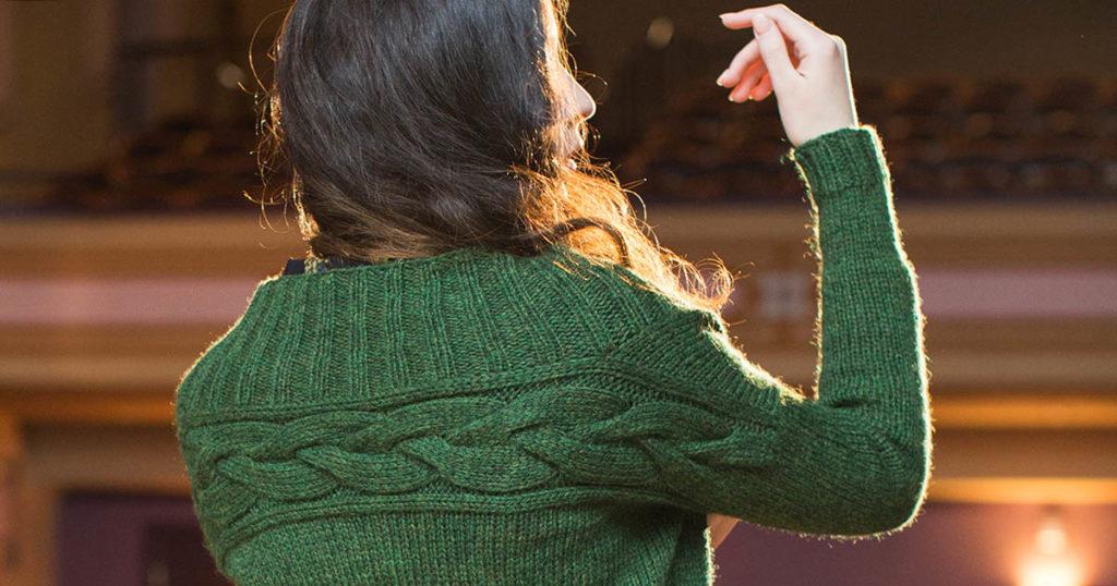 <em>knitscene</em> Fall 2018: Suzy Cardigan