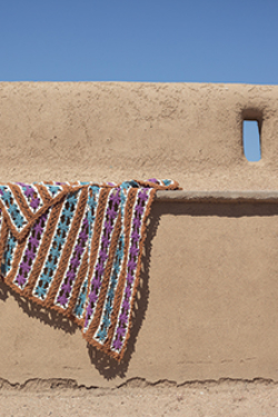 Sahara Afghan Crochet Pattern
