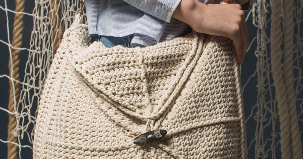 <em>Interweave Crochet</em> Summer 2018: Sailorly Tote