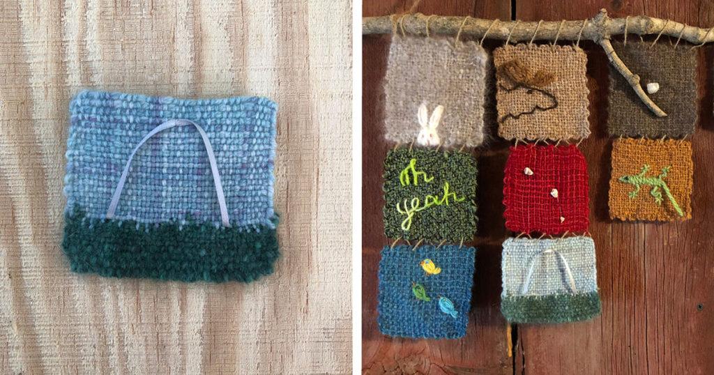 Making a Pin Loom Souvenir