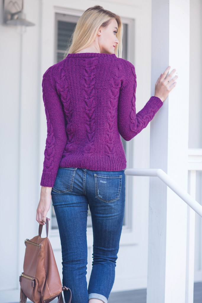 Andrea Sanchez Glasgow Sweater knit sweater pattern