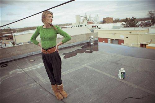 Sandra Sweater Odessa Reichel Knitscene