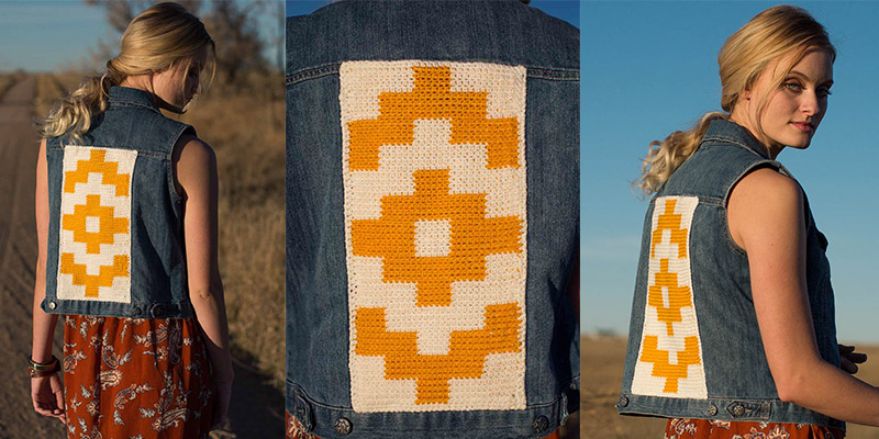 3 Ways to Alter the Santa Fe Vest Backing to Applique a Vest or Jacket