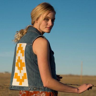 santa fe vest backing