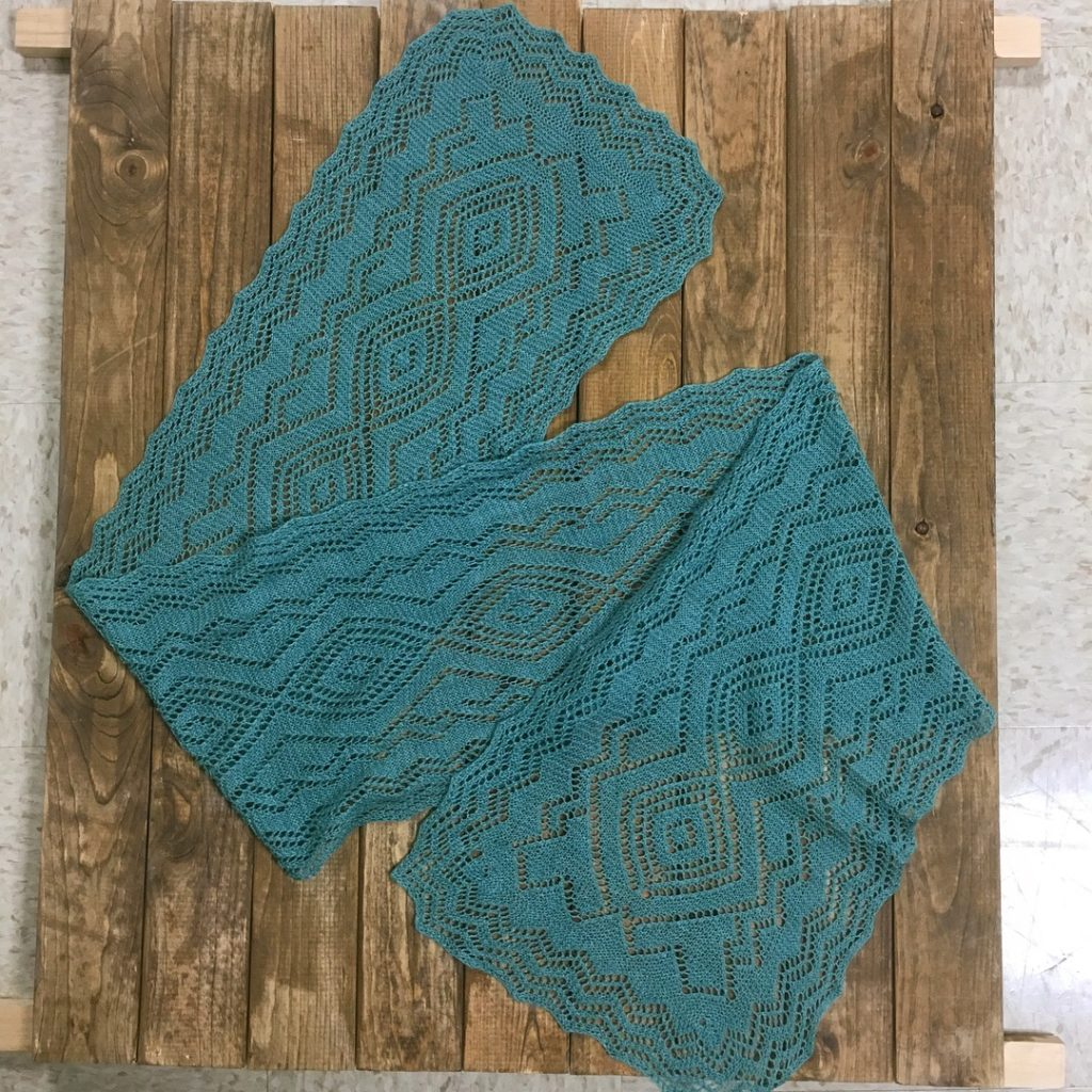 The Santa Fe Turquoise Trail Scarf: A Finished Object I Love Too ...