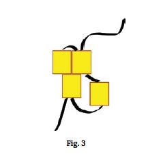 Brick stitch basics, figure 3