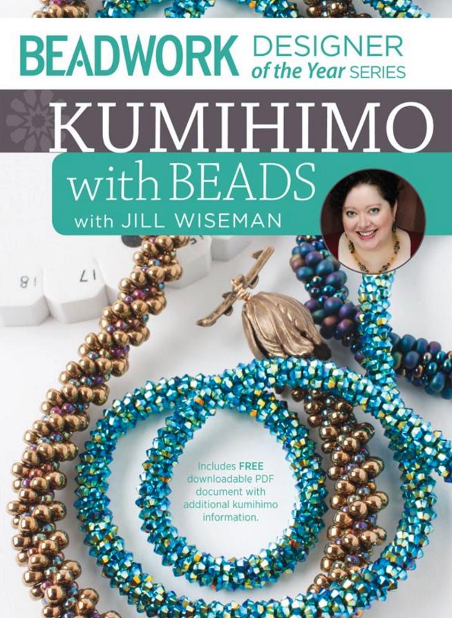 kumihimo with beads, Jill Wiseman, kumihimo ropes, beaded ropes