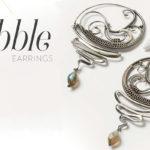 <em>Woven in Wire</em> Jewelry: Scribble Earrings