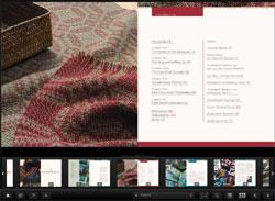 Doubleweave eBook: scrolling