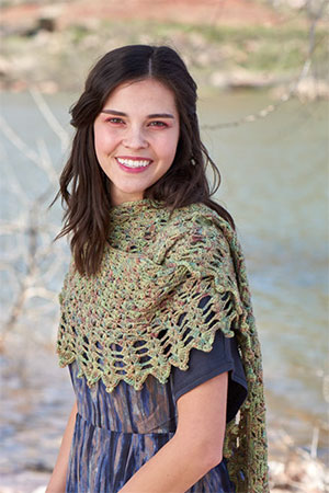 Sea Shells Shawlette