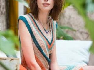 Chevron Crochet Dress